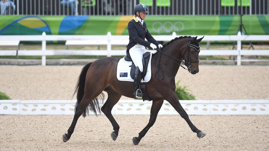 Mary Hanna is among the riders selected for the Australian Olympic dressage team.