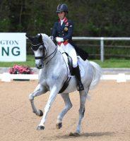 Charlotte Dujardin riding Florentina