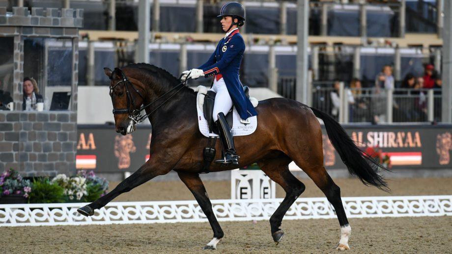 British Olympic teams Royal Windsor Horse Show