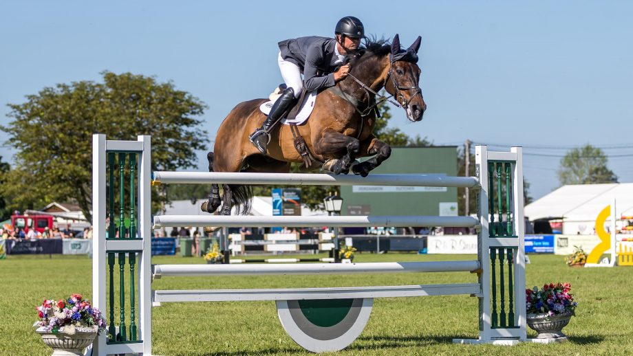 Will Fletcher riding Persimmon at South of England