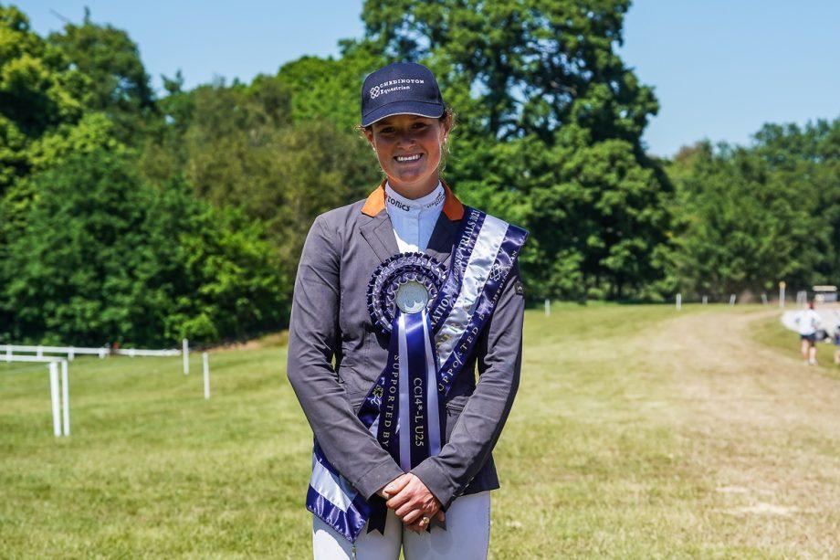 Bicton Horse Trials showjumping: Bubby Upton, under-25 winner