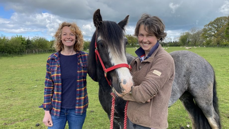 Rescue horse Kate Humble