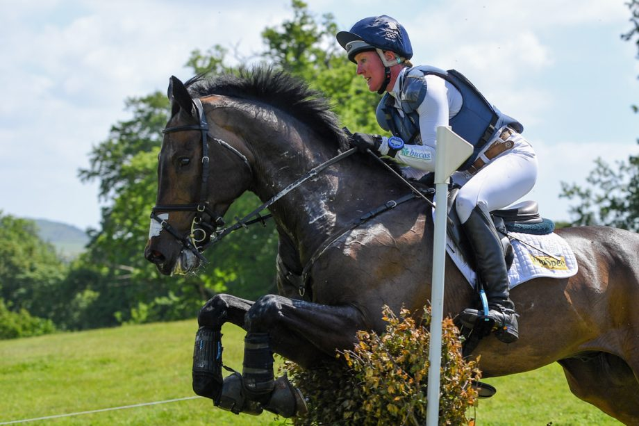 Bicton Horse Trials cross-country: Nicola Wilson and JL Dubllin