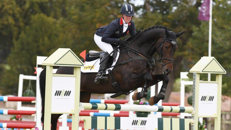 Bicton Horse Trials showjumping: winner Nicola Wilson and JL Dublin