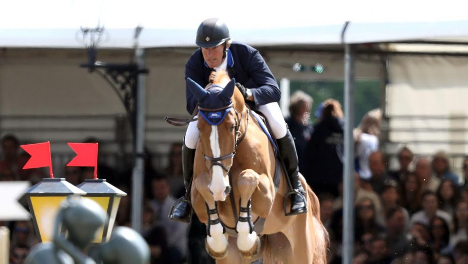 The British Olympic showjumping entries list has been changed after William Funnell (pictured) was injured in a fall