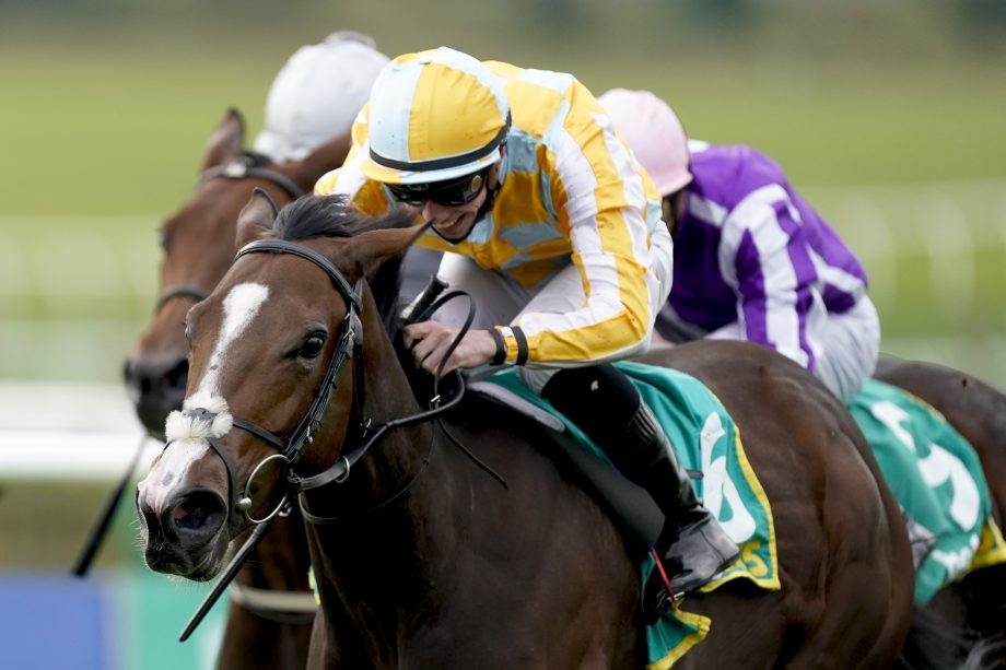 Royal Ascot betting day four Coronation Stakes Pretty Gorgeous ridden by Shane Crosse wins The bet365 Fillies' Mile at Newmarket Racecourse.