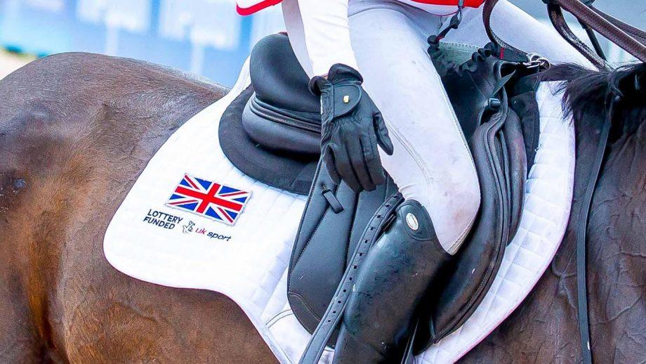 British Olympic eventing team