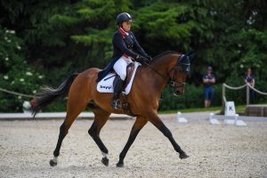 Bicton Horse Trials dressage: Pippa Funnell and MGH Grafton Street