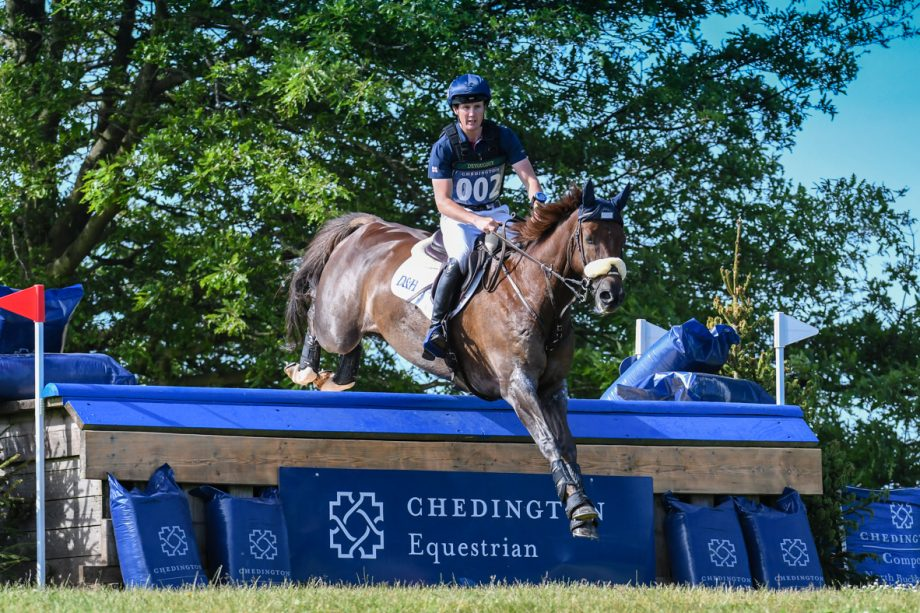 Bicton Horse Trials cross-country: Tom McEwen and Braveheart B