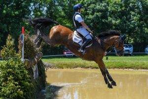 Bicton Horse Trials cross-country