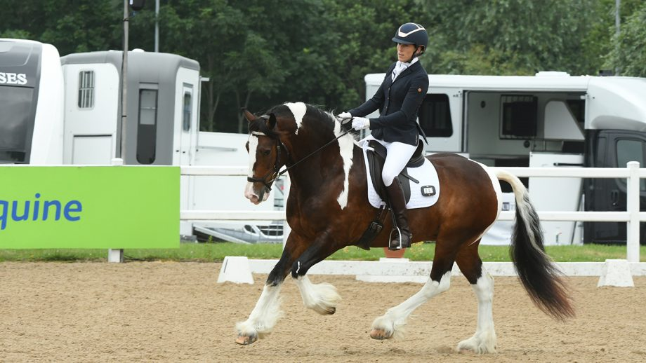 Victoria Homden and Olly at the Winter Dressage Championships 2021