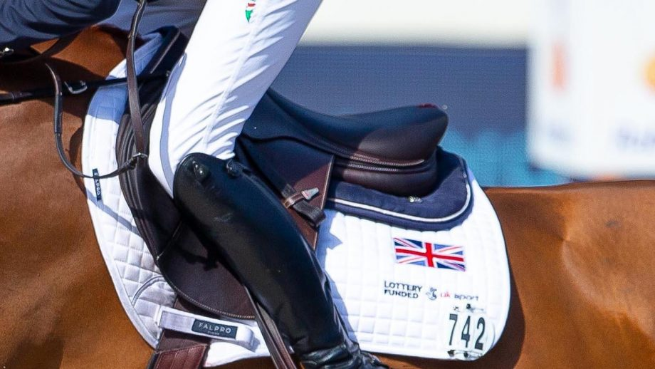 2021 European Showjumping Championships tickets The riders who will wear the British flag on their saddle cloth (pictured) as members of the British Olympic showjumping team have been named.