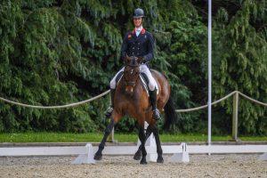 Bicton Horse Trials dressage: William Fox-Pitt and Grafennacht