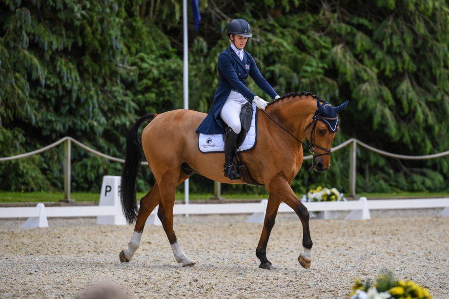 Bicton Horse Trials dressage: Yasmin Ingham and Rehy DJ
