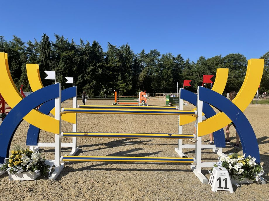 Bicton Horse Trials showjumping