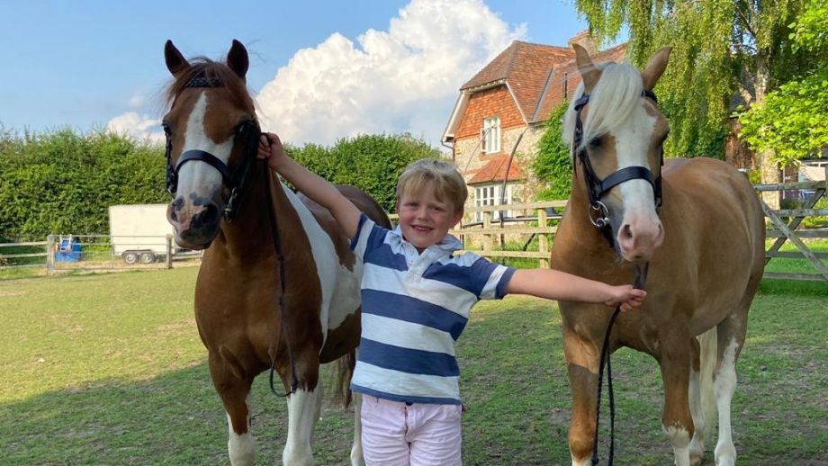 Arty Cayzer has qualified his two ponies for the Royal International Horse Show, following in his mother Anna's footsteps
