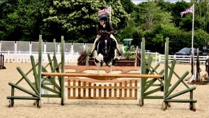 Bea Bailye-Hawkins has overcome bullying to qualify coloured working hunter pony Precious Gem for the Royal International Horse Show