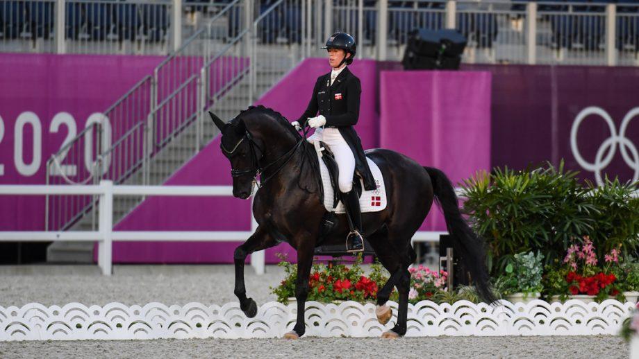 Carina Cassoe Kruth and Heiline's Danciera tokyo olympic grand prix dressage