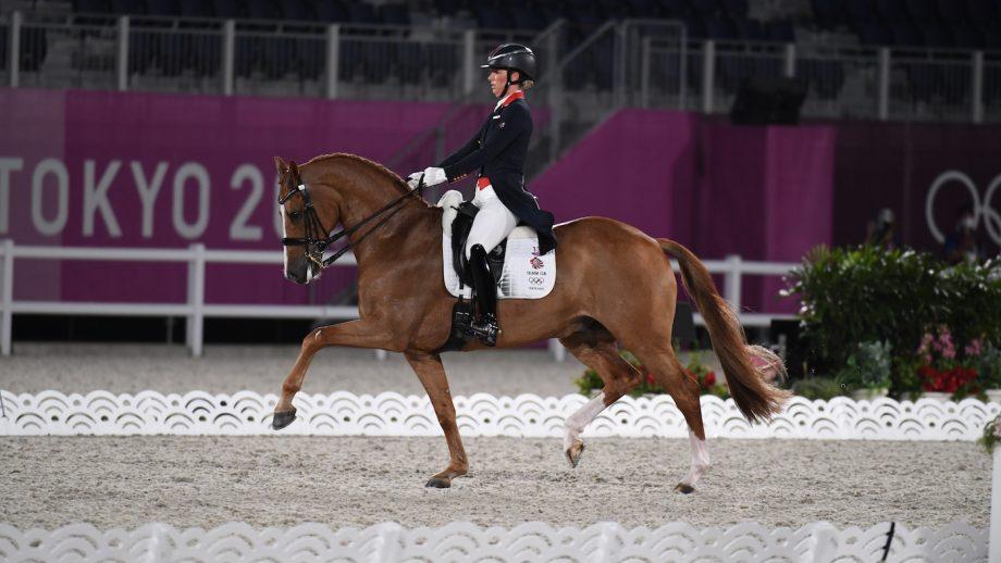 Charlotte Dujardin and Gio Tokyo Olympics