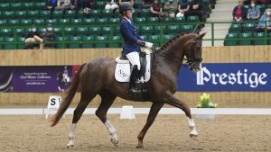 Charlotte Dujardin rides Imhotep at the Winter Dressage Championships