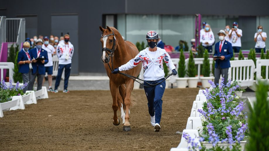Tokyo Olympics dressage trot-up pictures