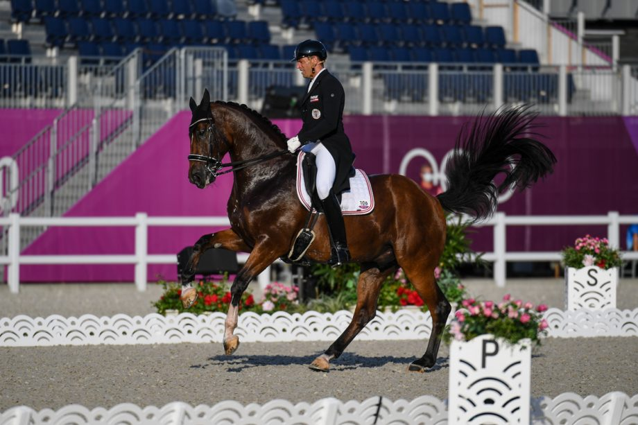 Christian Schumach and Te Quiero SF at the Tokyo Olympics
