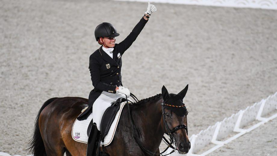 Jessica von bredow-werndl olympic champion gold