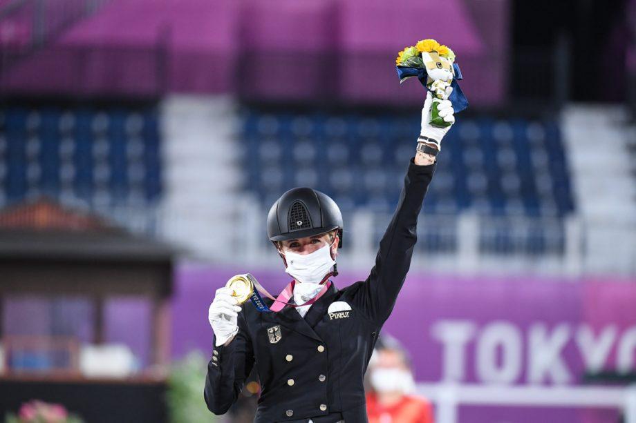 Jessica von Bredow-Werndl Olympic gold medallist