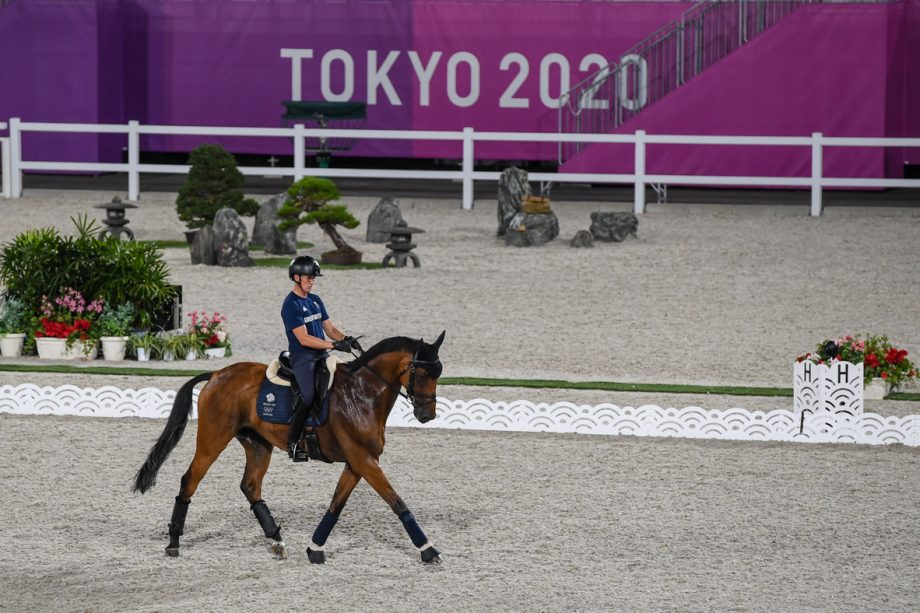 Olympic eventing dressage times: Tom McEwen and Toledo De Kerser prepare for their test