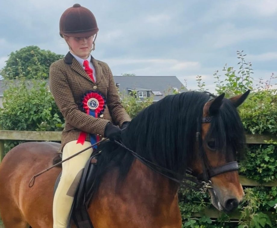 After seven years of trying, Gemma and Delilah Beck's Dartmoor Kingshaugh Eclipse heads to the Royal International Horse Show