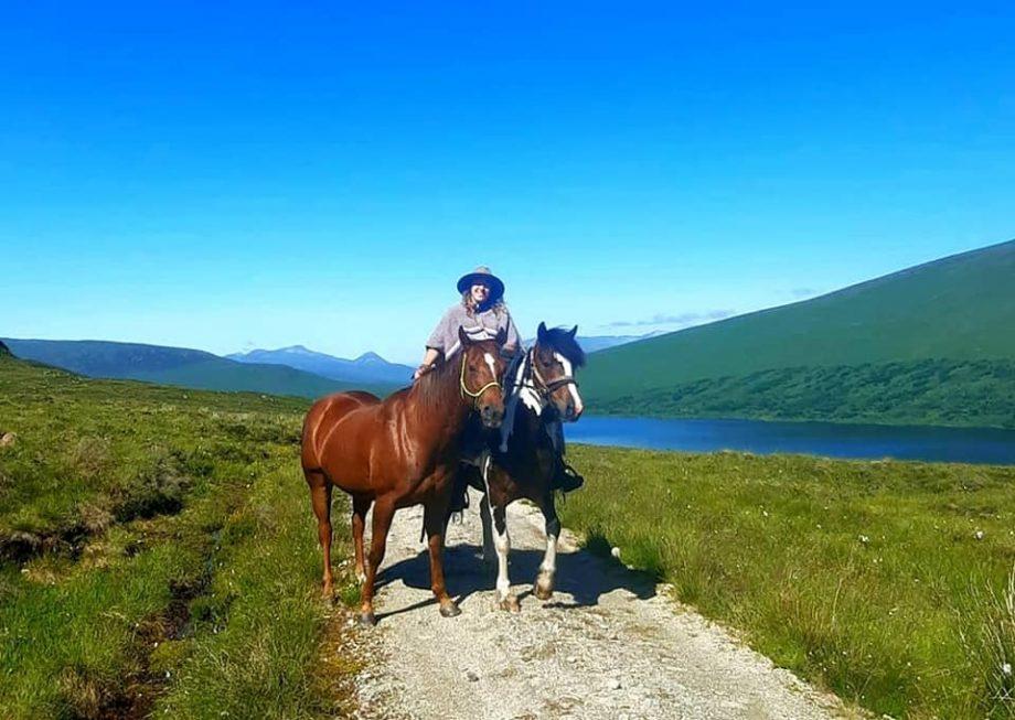 John O' Groats to Land's End on horseback