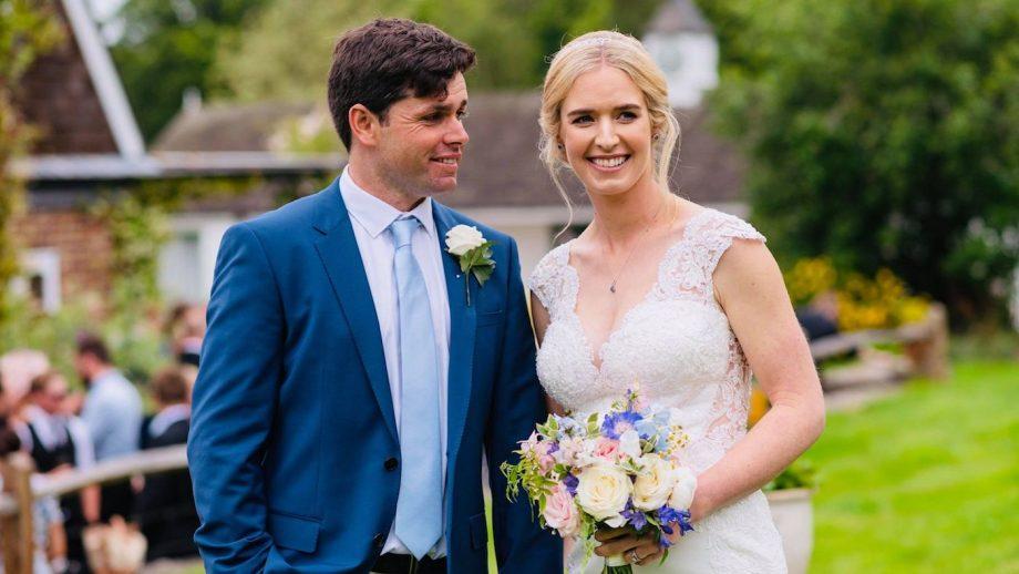 Emily Llewellyn Max Routledge wedding