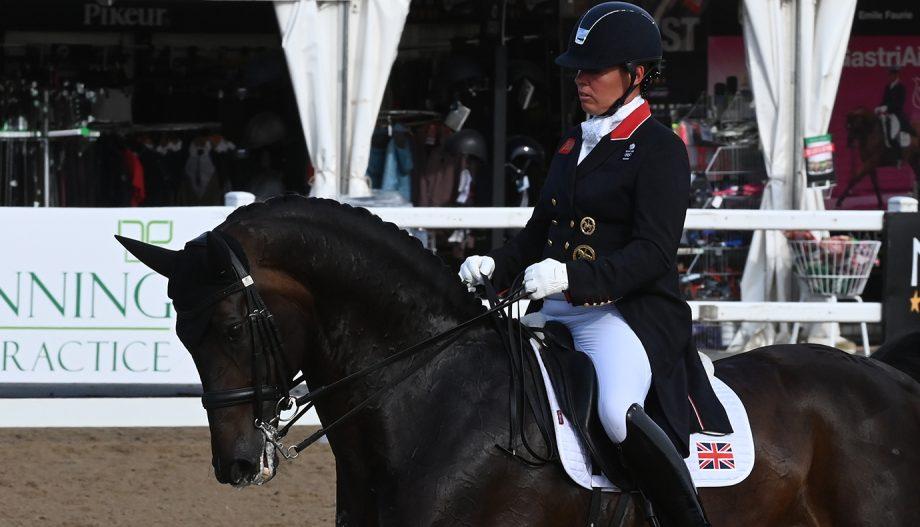 Fiona Bigwood Hartpury grand prix