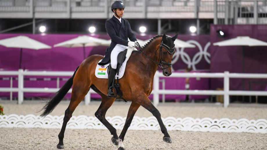Fouaad Mirza: Olympic eventing dressage