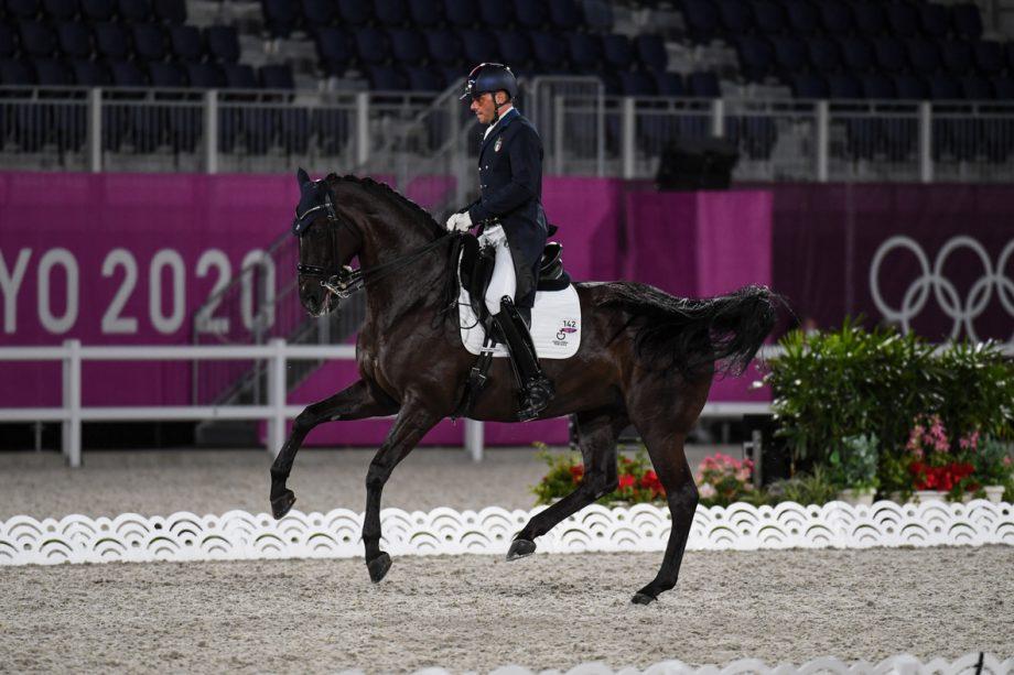 Francesco Zaza and Wispering Romance at the Tokyo Olympics