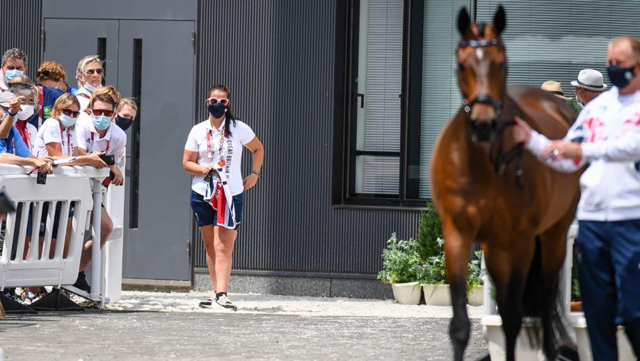 Tokyo Olympics groom Steph Sharples