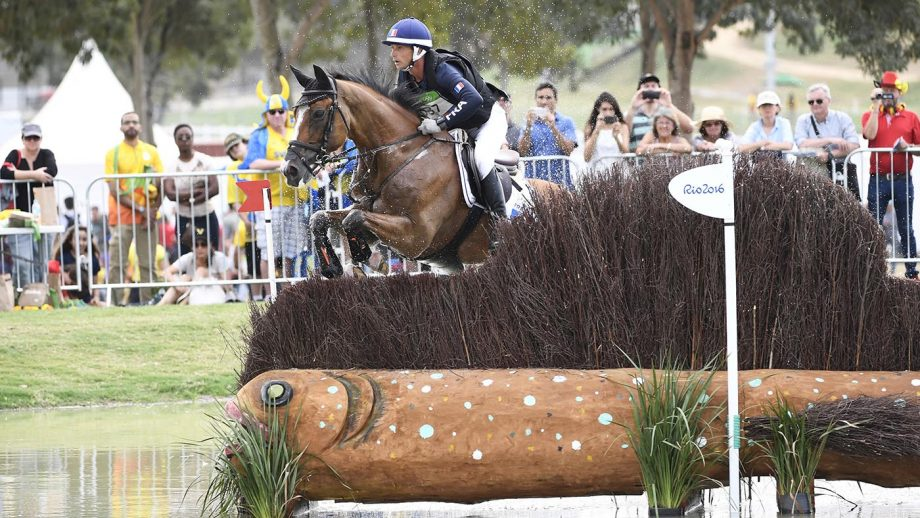 French Olympic event rider Thibaut Vallette