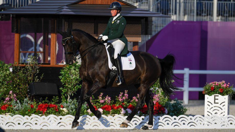 Heike Holstein Tokyo Olympics grand prix