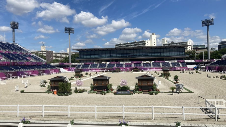 Tokyo Olympic Games showjumping Equestrian Park