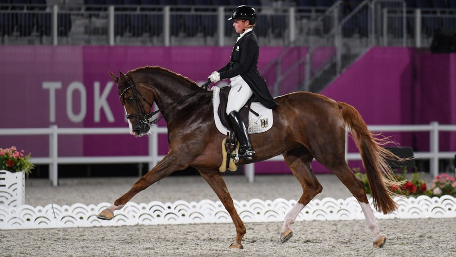 Isabell Werth and Bella Rose 2 tokyo olympic grand prix