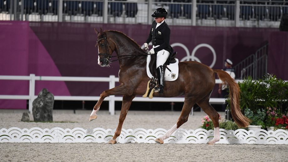Olympic dressage team final bella rose isabell werth