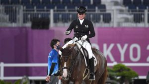 Isabell Werth's top horse Bella Rose 2 has retired from sport after the Tokyo Olympics