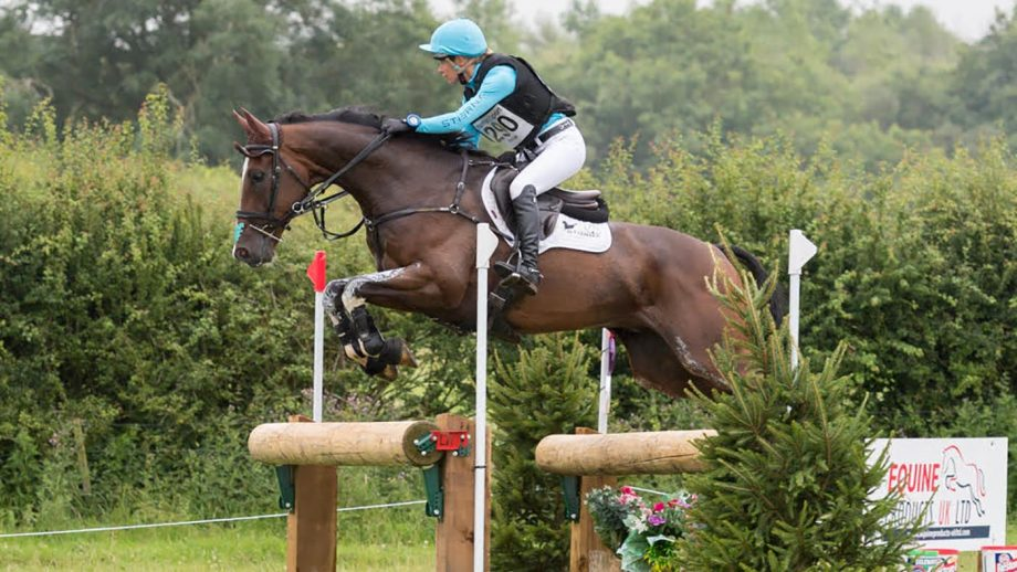 Izzy Taylor and Monkeying Around on their way to becoming British Open eventing champions at Burgham