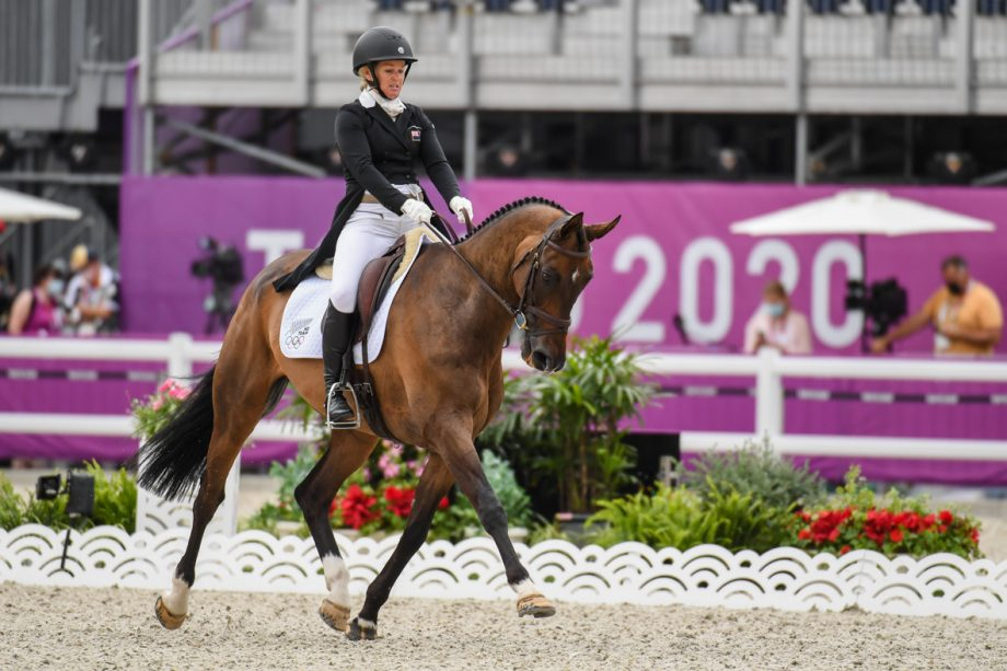 Tokyo Olympic eventing team pathfinders: Jonelle Price and Grovine De Reve