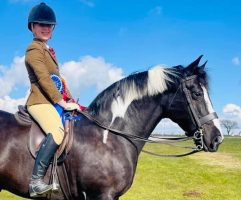 Lauren Moore Williams' former ridden coloured champion returns to the Royal International after four years