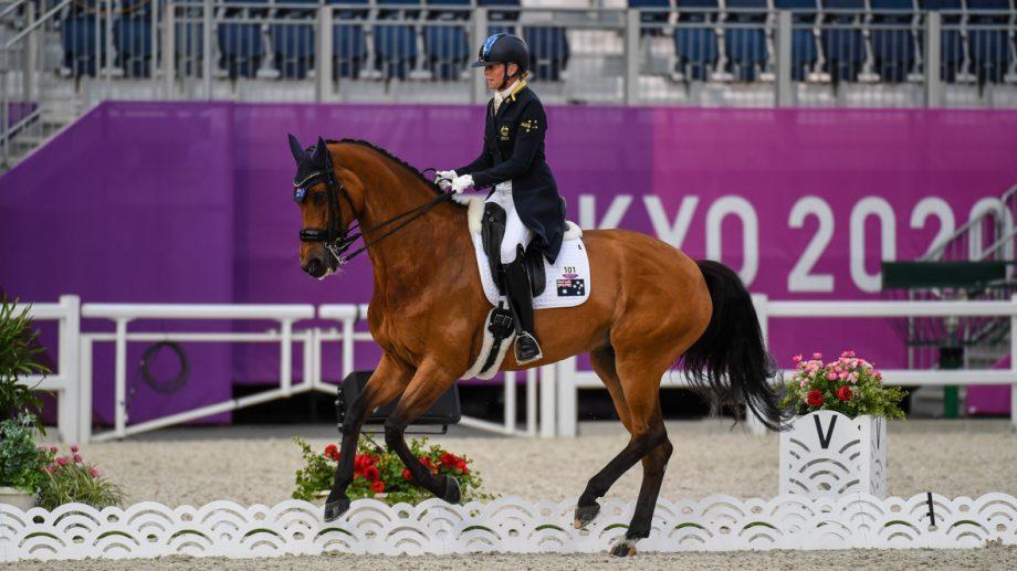 Mary Hanna and Calanta at the Tokyo Olympics