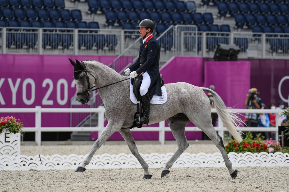 Oliver Townend and Ballaghmor Class lead the Olympic eventing dressage at the end of the first day