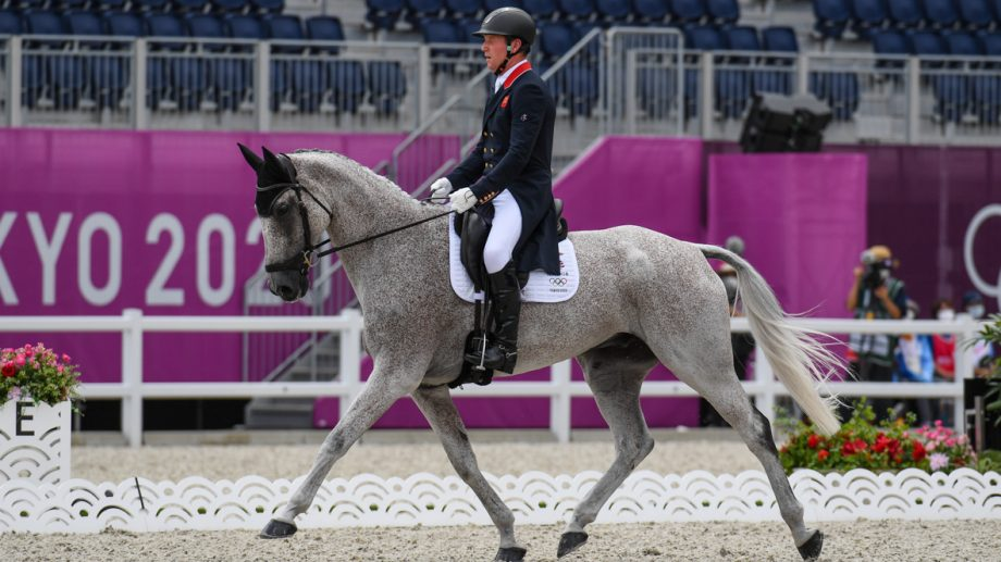 Olympic eventing dressage: Oliver Townend and Ballaghmor Class