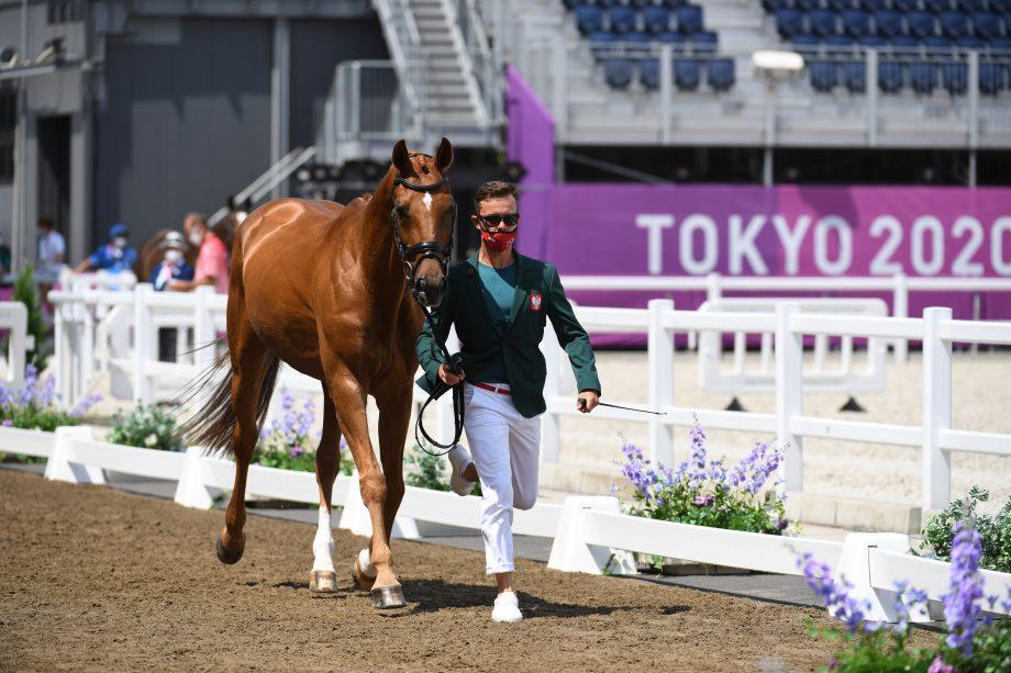Tokyo Olympics first trot-up: Pawel Spisak and Banderas