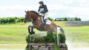 European Eventing Championships cross-country: Piggy French and Brookfield Inocent